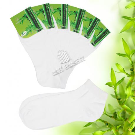 Bambusové kotníkové ponožky AMZF dámské