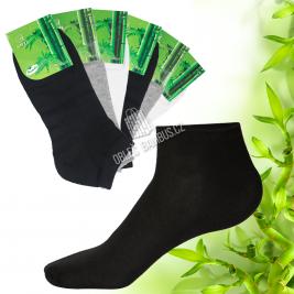 Bambusové kotníkové ponožky AMZF