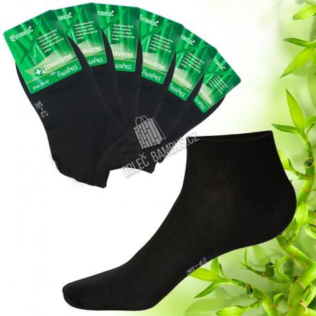 Dámské kotníkové bambusové ponožky PESAIL