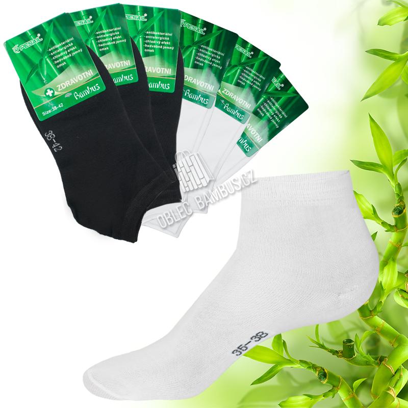 6682041e3ad Dámské kotníkové bambusové ponožky PESAIL - bambusové oblečení
