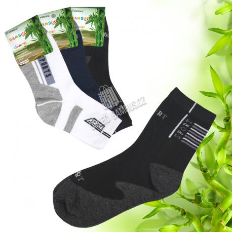 Klučičí klasické bambusové ponožky PESAIL 3 páry