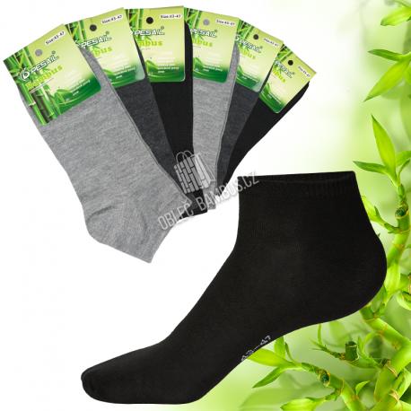 Pánské kotníkové bambusové ponožky PESAIL - mix