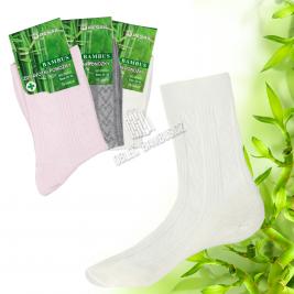 Dámské barevné bambusové ponožky PESAIL 3 páry