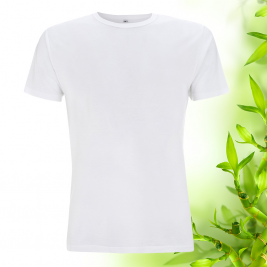 Pánske biele bambusové tričko Continental Clothing