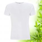 Pánské bílé bambusové tričko Continental Clothing