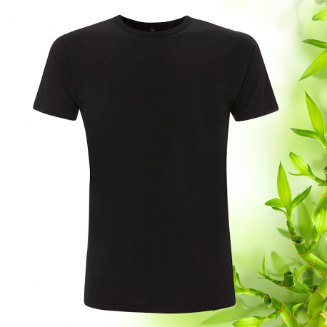 Pánské bambusové tričko černé