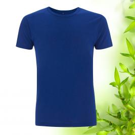 Pánske modre bambusové tričko Continental Clothing