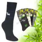 Pánské bambusové thermo ponožky Pesail 2 páry - vzory