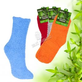 Dámské bambusové froté thermo ponožky Pesail 2 páry
