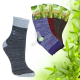 Dámske bambusové thermo ponožky AMZF 3 páry