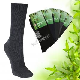 Pánské zdravotní bambusové ponožky PESAIL 5 párů - mix