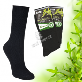 Pánské bambusové thermo ponožky Pesail 2 páry - čierné