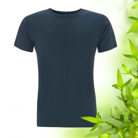 Pánské džínově modré bambusové tričko Continental Clothing