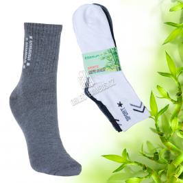 Pánské sportovní bambusové ponožky Ellasun 6 párů