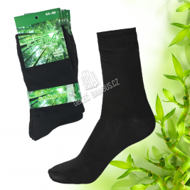 Pánské klasické bambusové ponožky ROTA 5 párů - černé