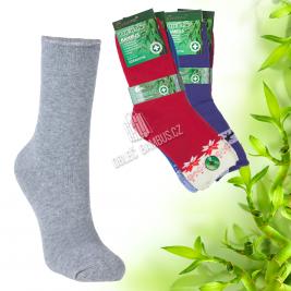 Dámské zdravotné bambusové thermo ponožky PESAIL 2 páry