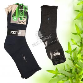 Pánské zdravotní bambusové ponožky ROTA 3 páry
