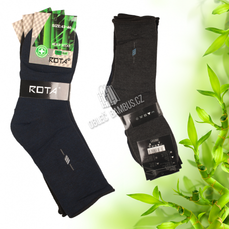 Pánske klasické bambusové ponožky PESAIL 3 páry