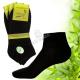 Pánské kotníkové bambusové ponožky Naige černé