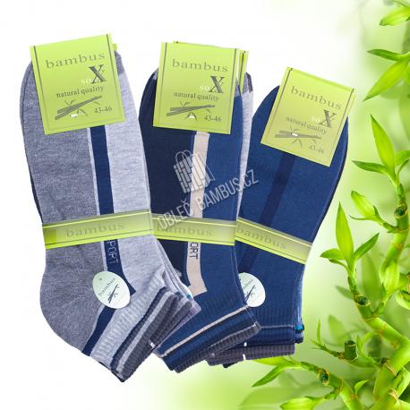 Pánske členkové bambusové ponožky PESAIL