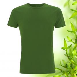 Pánské zelené bambusové tričko Continental Clothing