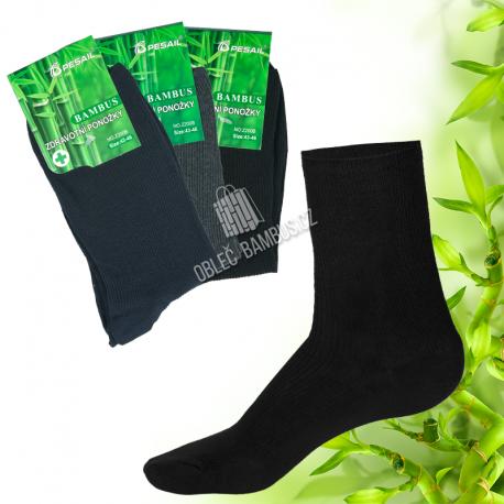 Pánské zdravotní bambusové ponožky PESAIL 3 páry - mix
