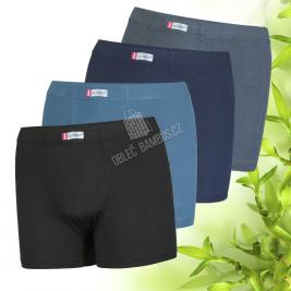 Bambusové boxerky Pesail jednobarevné 2 kusy