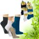 Pánské bambusové ponožky Socks 4 fun