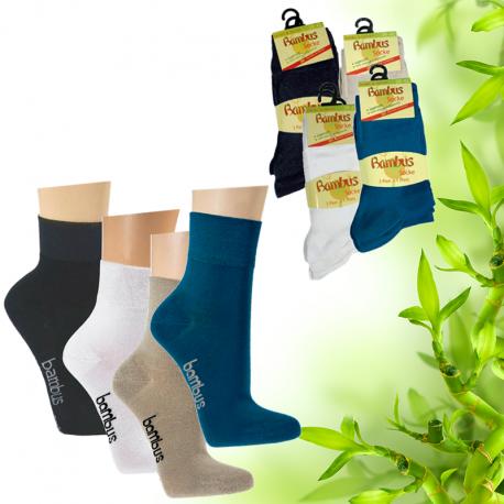 Dámské bambusové ponožky Socks 4 fun