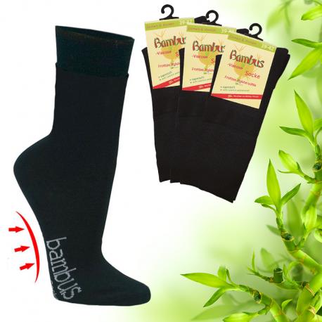 Pánské zdravotní bambusové ponožky s froté polstrováním Socks 4 fun