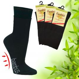 Dámské zdravotní bambusové ponožky s froté polstrováním Socks 4 fun