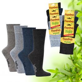 """Dámské zdravotní bambusové ponožky Socks 4 fun """"melange"""""""