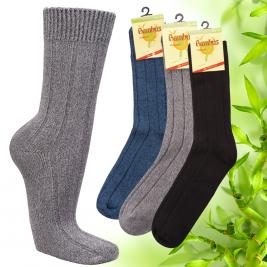 Dámské bambusové thermo ponožky Socks 4 fun