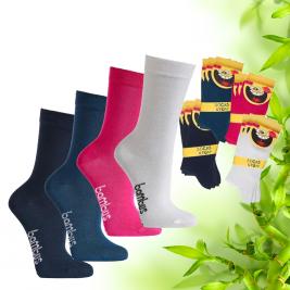 Dětské bambusové ponožky Socks 4 fun