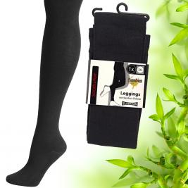 Dámské legíny z  bambusové viskózy Socks 4 fun
