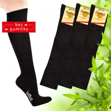 Zdravotní bambusové podkolenky Socks 4 fun